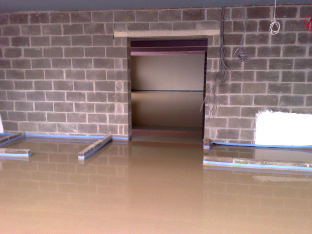 Finshed Floor of Liquid screed