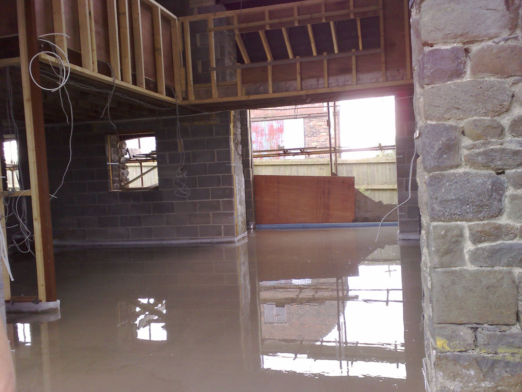Liquid Screed at Carmarthen