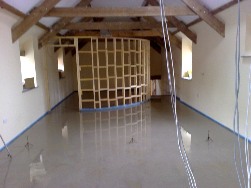Liquid Screed at Narbeth