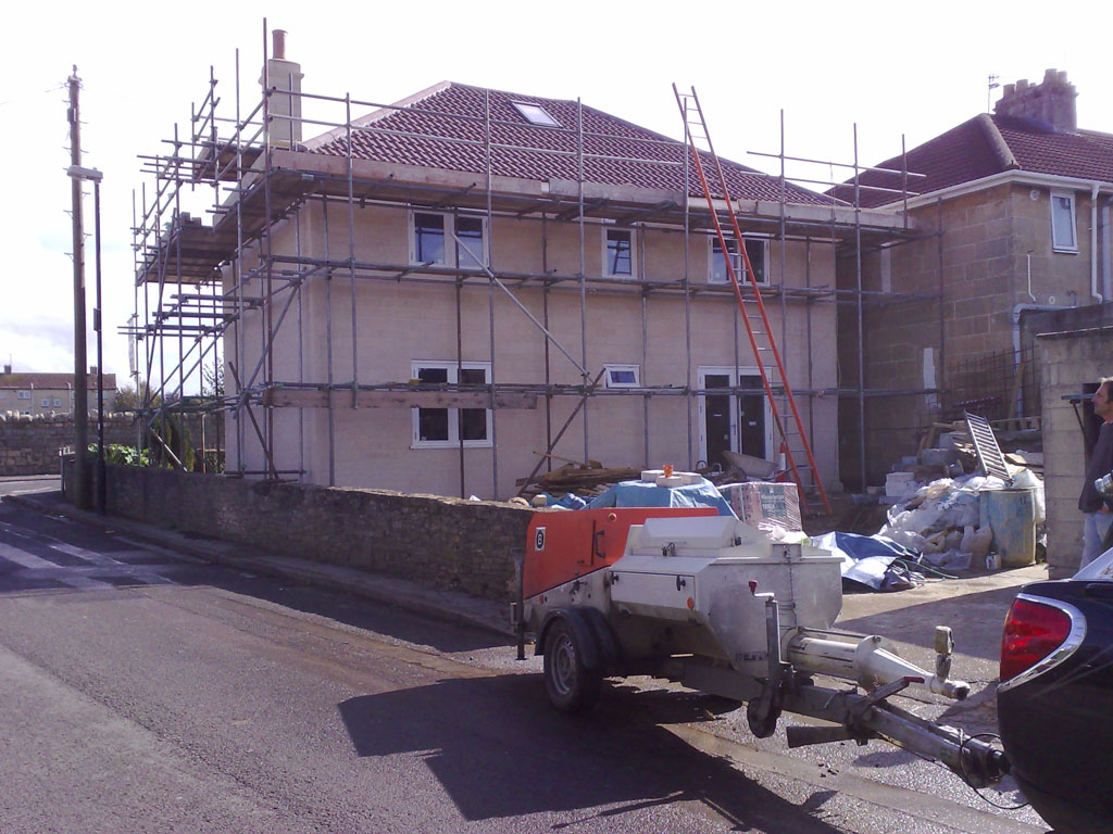 New Build In Bath Somerset
