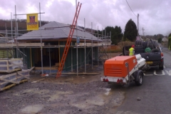New Build at Llanarthney Carmenthshire
