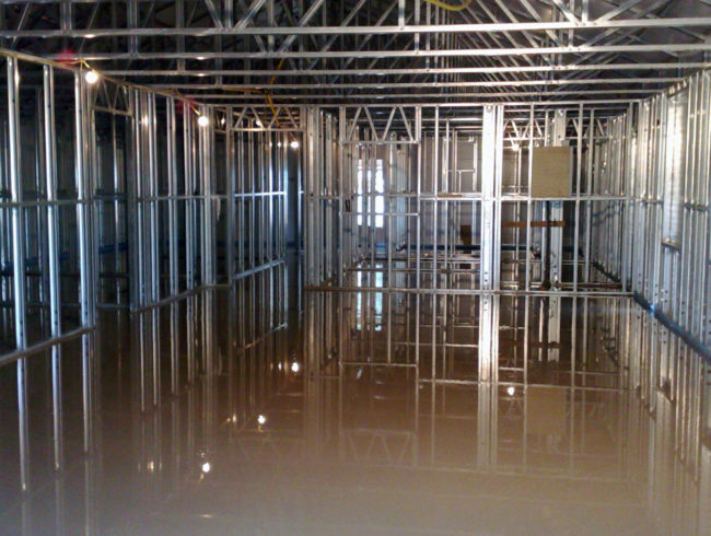 Commercial Building Flooring Screeds